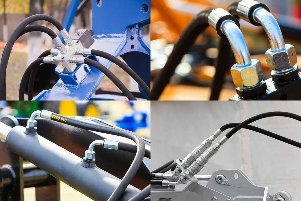 Czy ten przewód hydrauliczny jest elastyczny i wytrzymały?